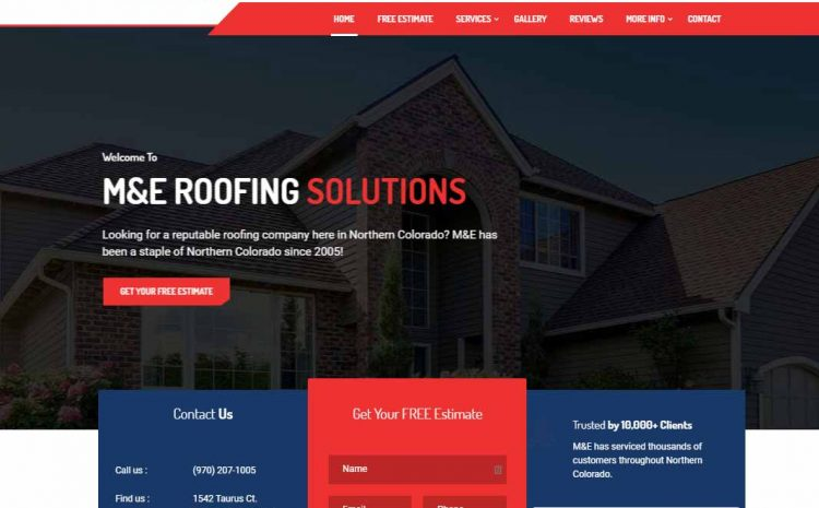 Welcome To Our New Roofing Website