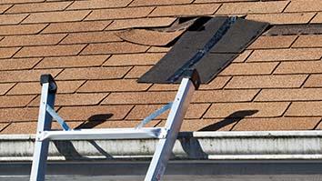 missing shingle roof repair
